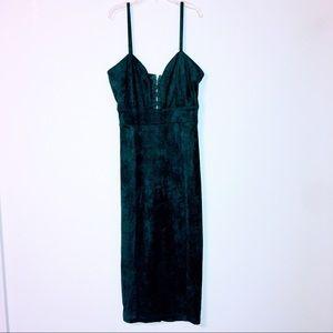 Green Bodycon Fashion Nova Dress